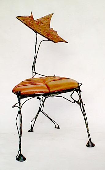 chaise sculpture-mobilier d\'art entre meuble objet d\'art et ...